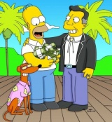 The Simpsons 14x19 : Old Yeller Belly- Seriesaddict